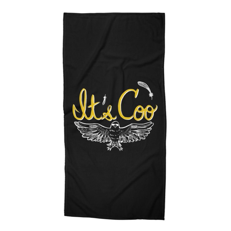 It's Coo Accessories Beach Towel by artofwendyxu's Artist Shop