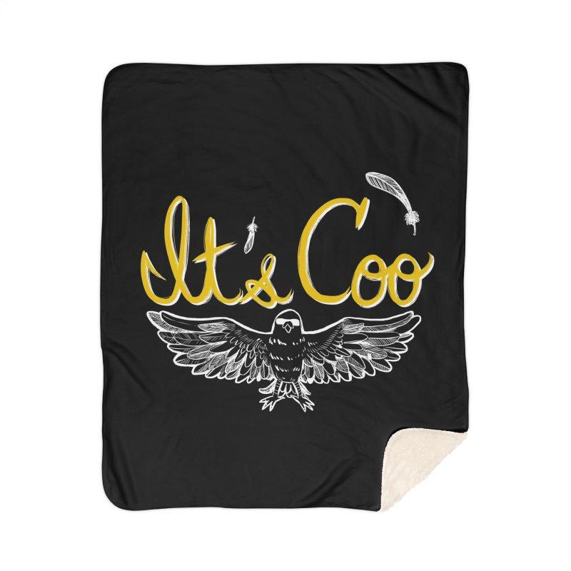 It's Coo Home Sherpa Blanket Blanket by Art of Wendy Xu's Artist Shop