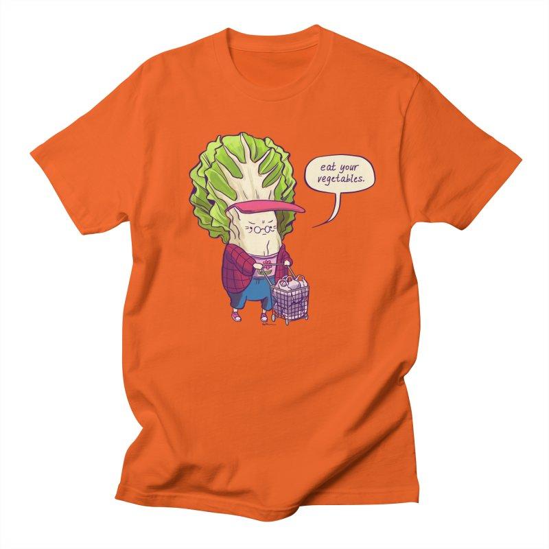 Cabbage Auntie Men's T-Shirt by Art of Wendy Xu's Artist Shop