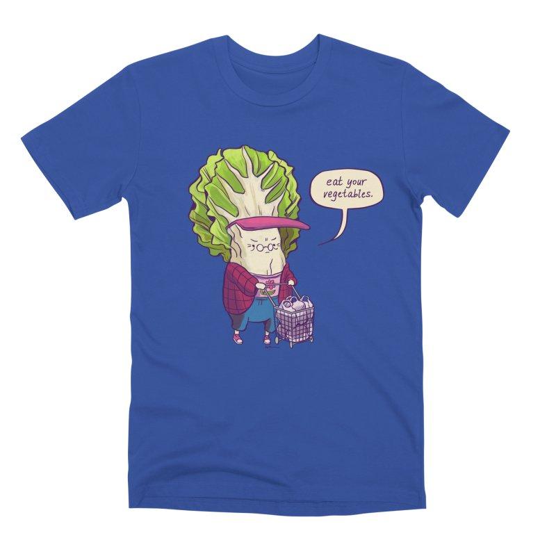 Cabbage Auntie Men's Premium T-Shirt by Art of Wendy Xu's Artist Shop