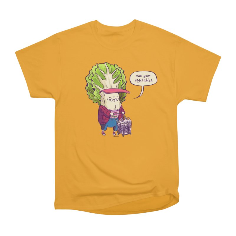 Cabbage Auntie Women's Heavyweight Unisex T-Shirt by Art of Wendy Xu's Artist Shop