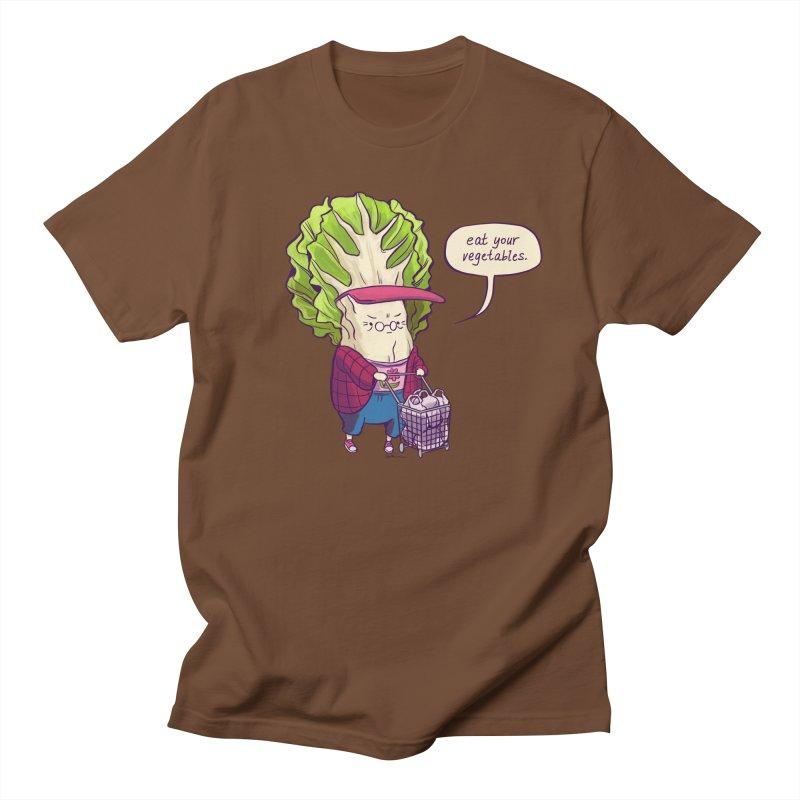 Cabbage Auntie Men's Regular T-Shirt by artofwendyxu's Artist Shop