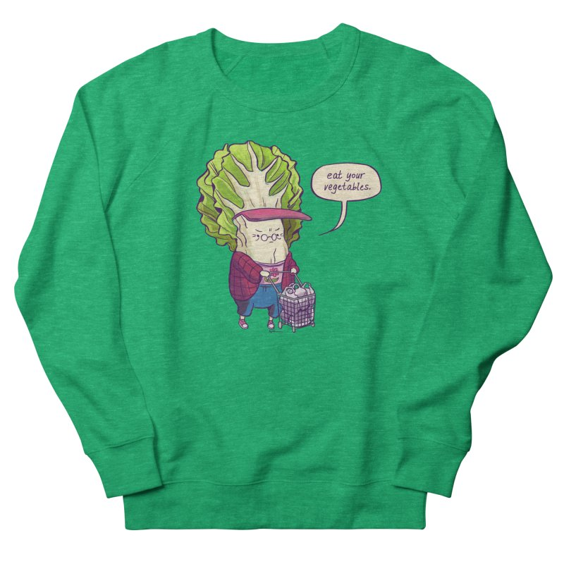 Cabbage Auntie Women's Sweatshirt by Art of Wendy Xu's Artist Shop