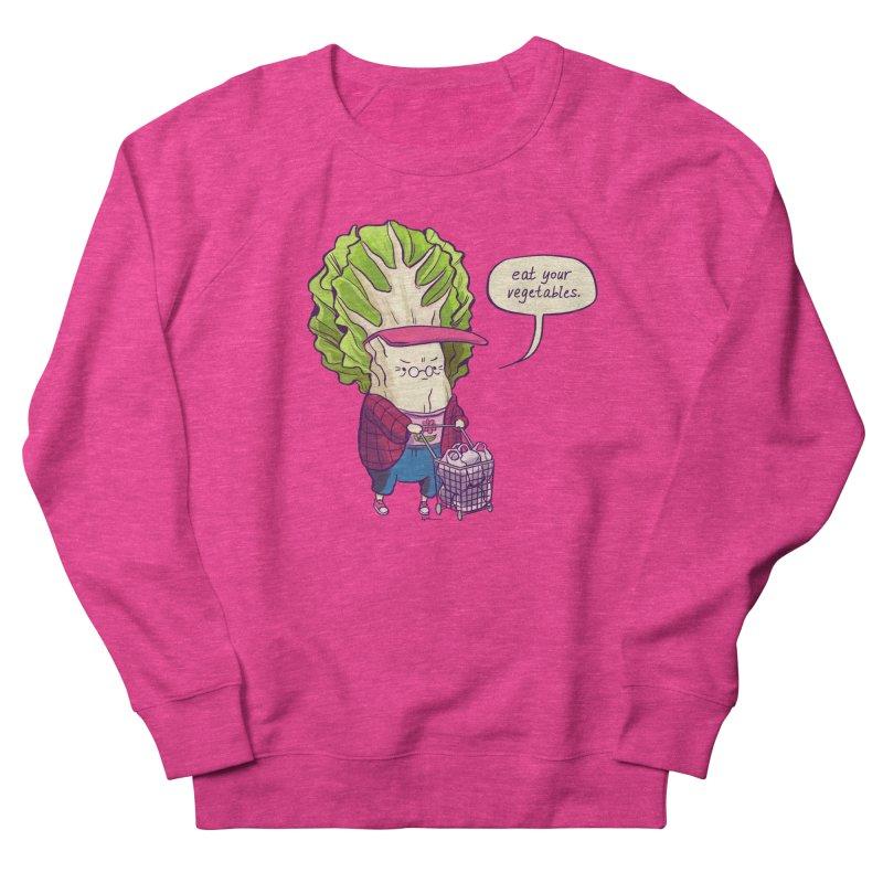 Cabbage Auntie Women's French Terry Sweatshirt by Art of Wendy Xu's Artist Shop