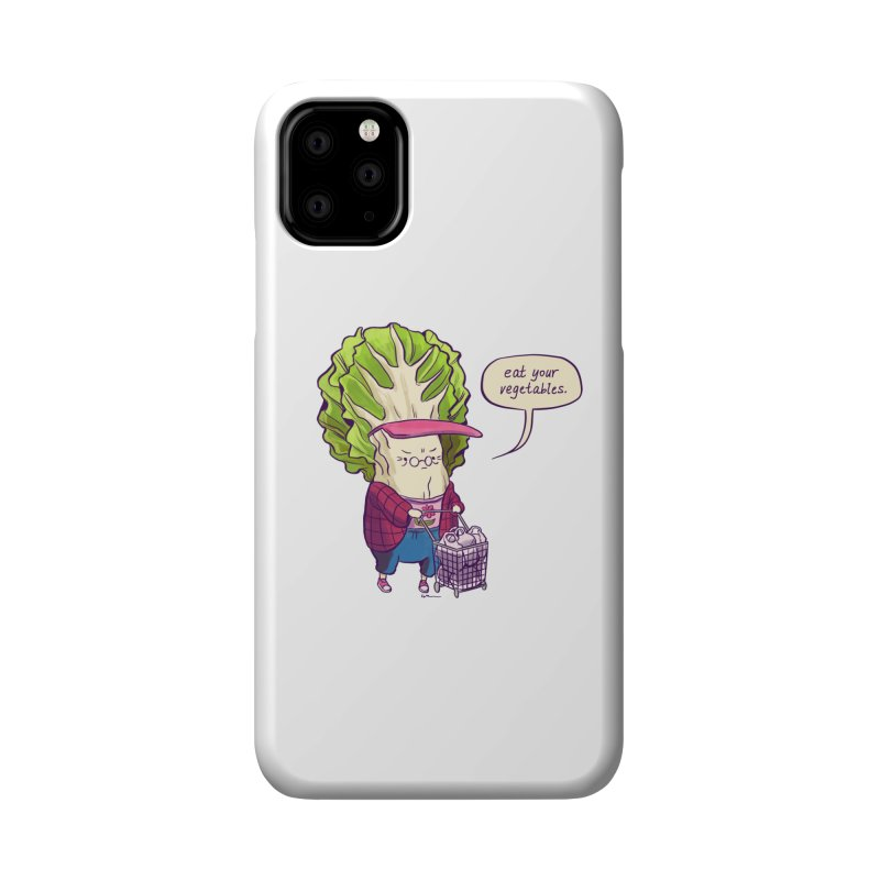 Cabbage Auntie Accessories Phone Case by Art of Wendy Xu's Artist Shop