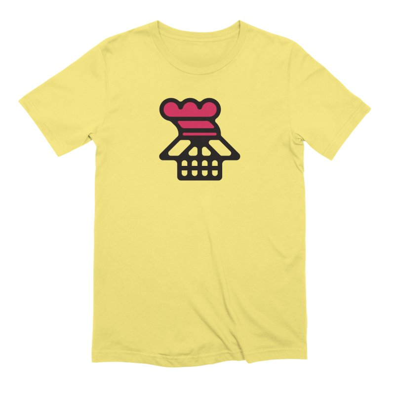 Dead Chef in Men's Extra Soft T-Shirt Light Yellow by Arto Jegas Store