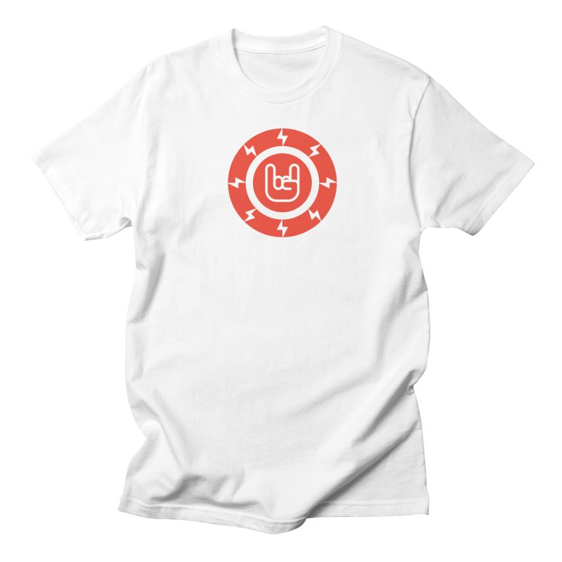 Rock on in Men's Regular T-Shirt White by Arto Jegas Store
