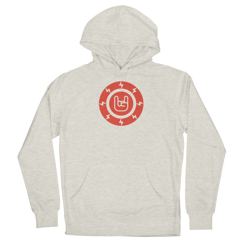 Rock on Men's French Terry Pullover Hoody by Arto Jegas Store