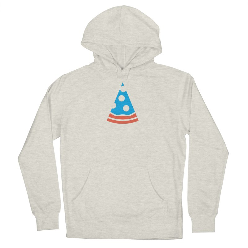 Ameripizza Men's French Terry Pullover Hoody by Arto Jegas Store