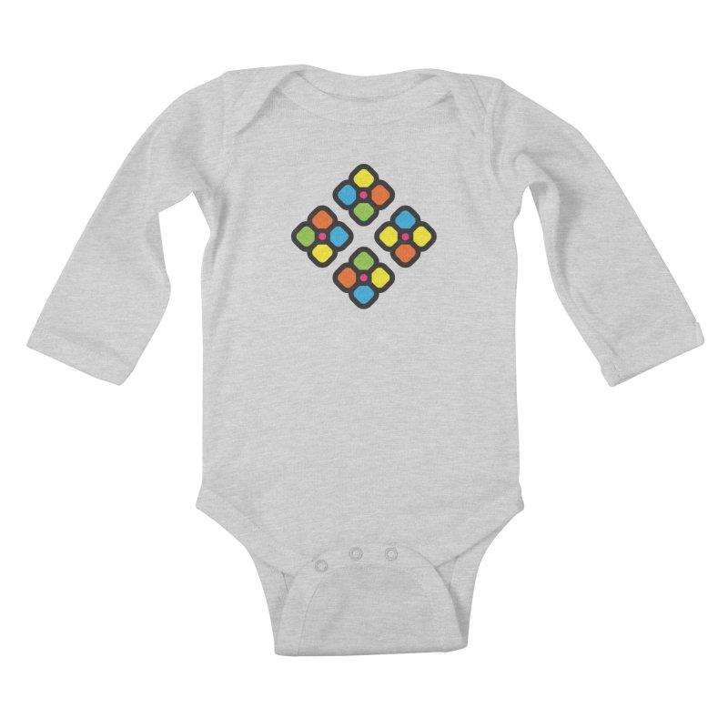 Squower Kids Baby Longsleeve Bodysuit by artojegas's Artist Shop