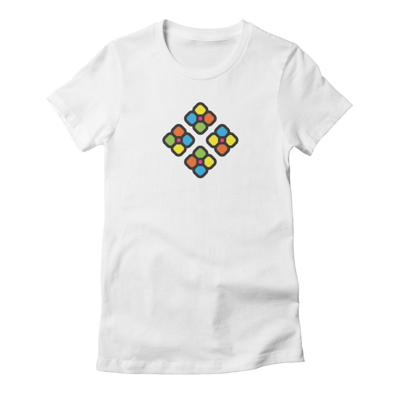 Squower Women's Fitted T-Shirt by artojegas's Artist Shop