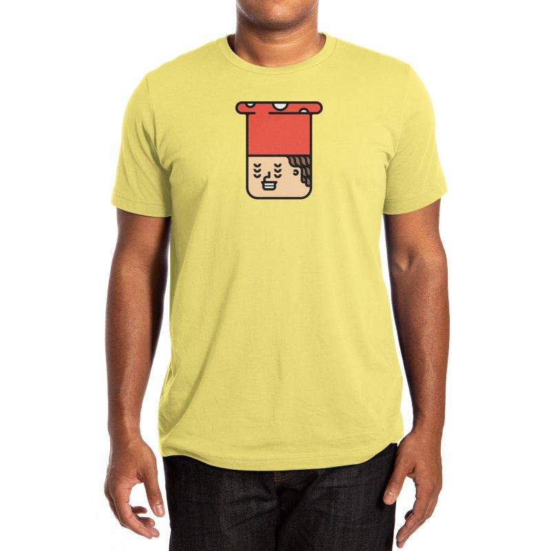 Mushroom Head Men's T-Shirt by Arto Jegas Store