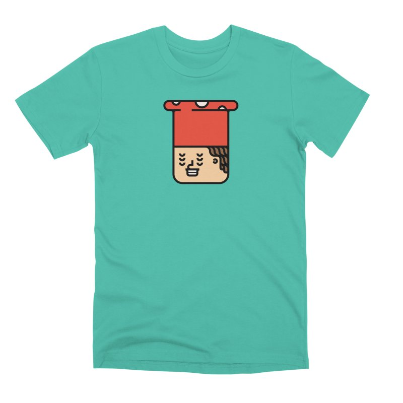 Mushroom Head Men's Premium T-Shirt by Arto Jegas Store