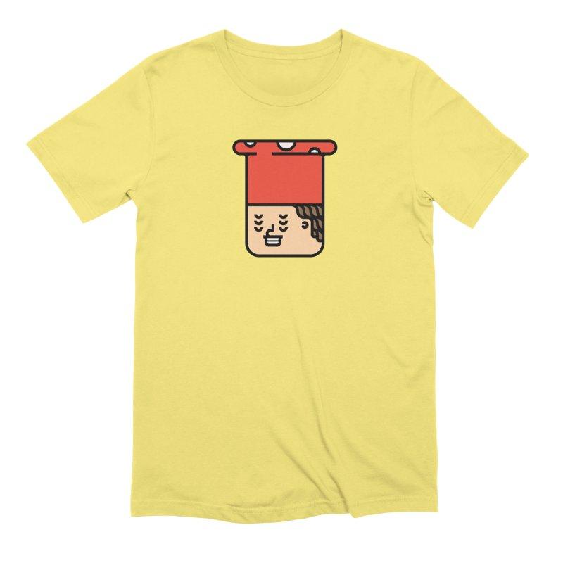 Mushroom Head Men's Extra Soft T-Shirt by Arto Jegas Store