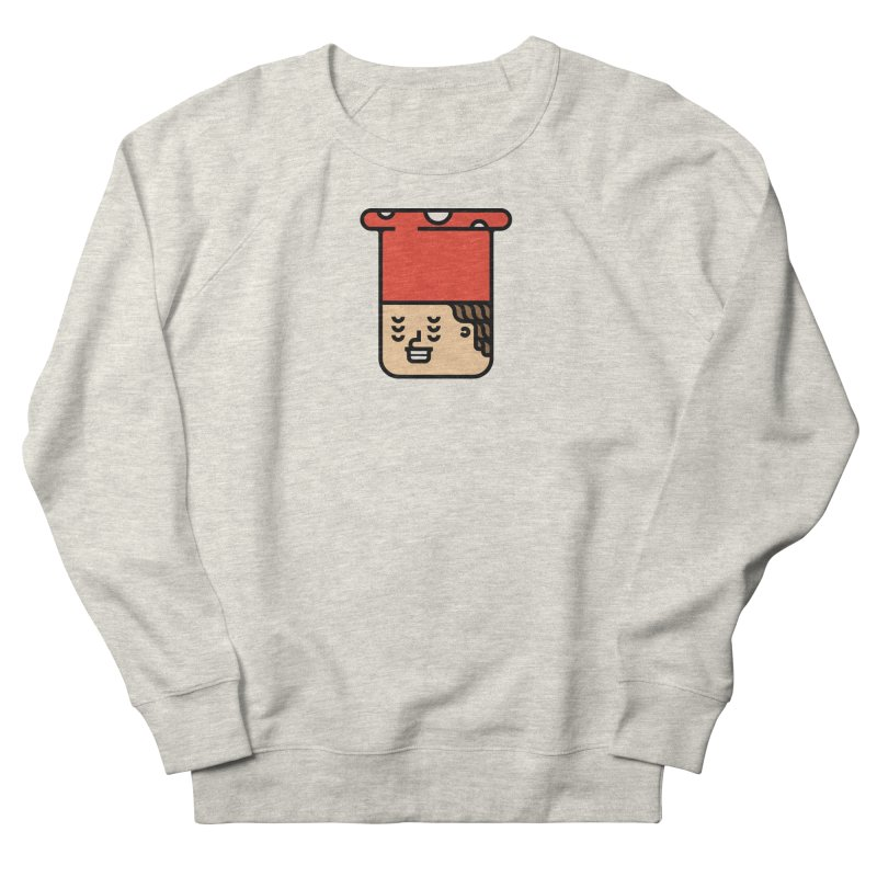 Mushroom Head Women's French Terry Sweatshirt by Arto Jegas Store