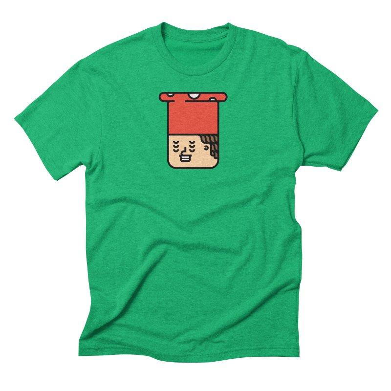 Mushroom Head Men's Triblend T-Shirt by Arto Jegas Store
