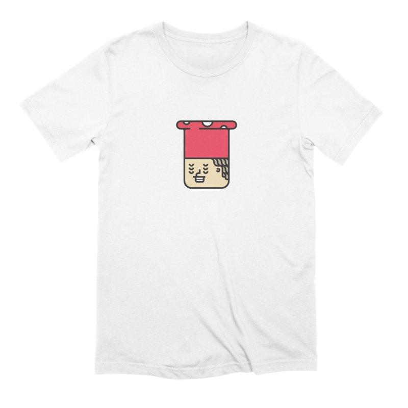 Mushroom Head Men's Extra Soft T-Shirt by artojegas's Artist Shop