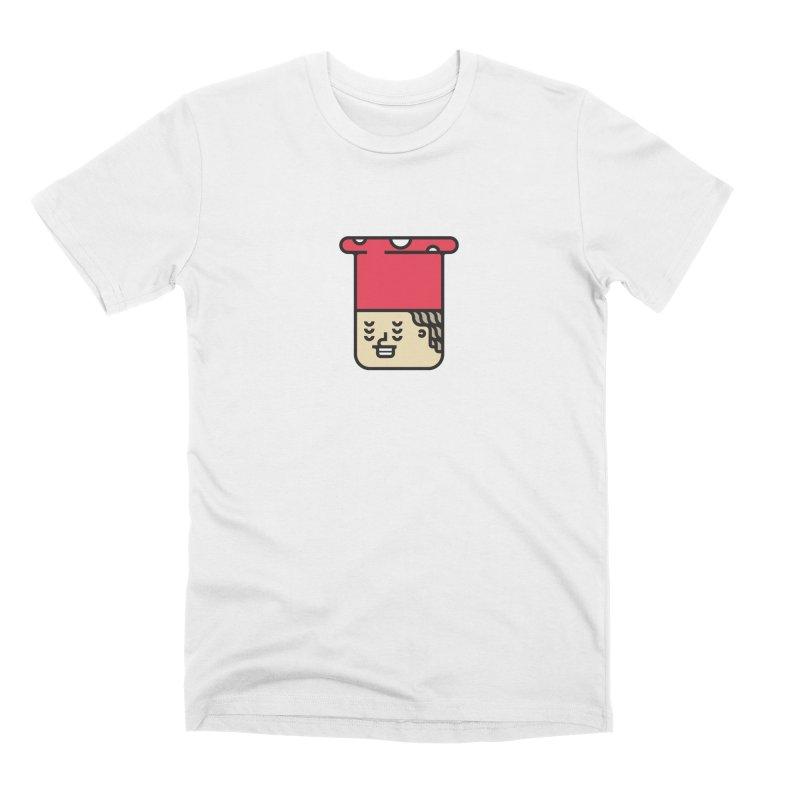 Mushroom Head Men's Premium T-Shirt by artojegas's Artist Shop
