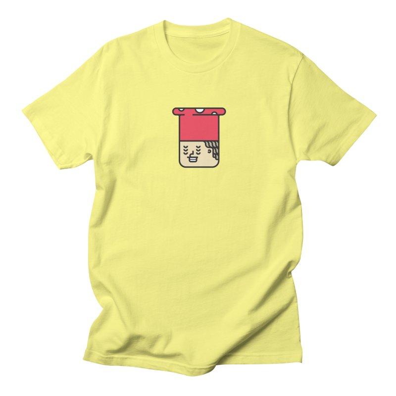 Mushroom Head Men's Regular T-Shirt by artojegas's Artist Shop