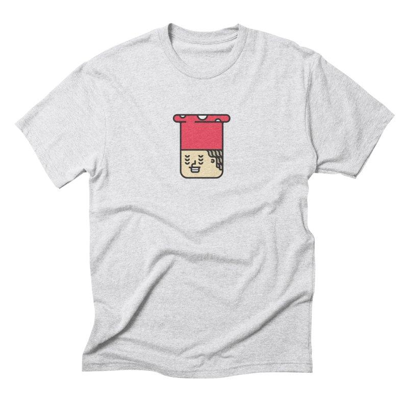 Mushroom Head Men's Triblend T-Shirt by artojegas's Artist Shop