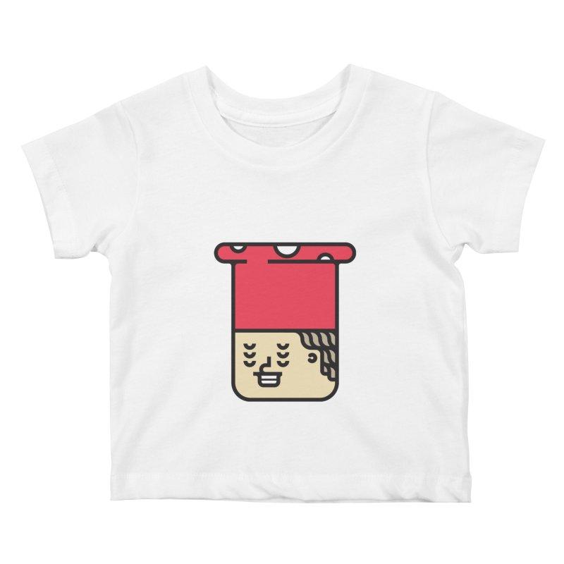 Mushroom Head Kids Baby T-Shirt by artojegas's Artist Shop