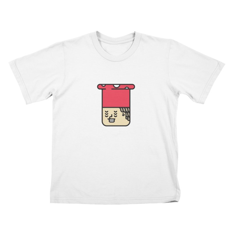 Mushroom Head Kids T-Shirt by artojegas's Artist Shop