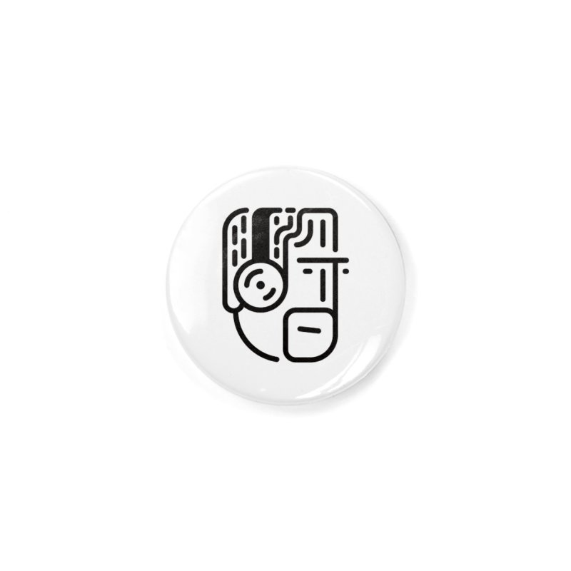 Music Head Accessories Button by Arto Jegas Store