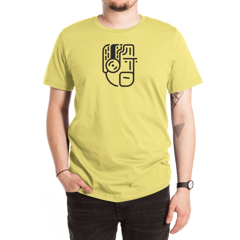 Music Head Men's T-Shirt by Arto Jegas Store