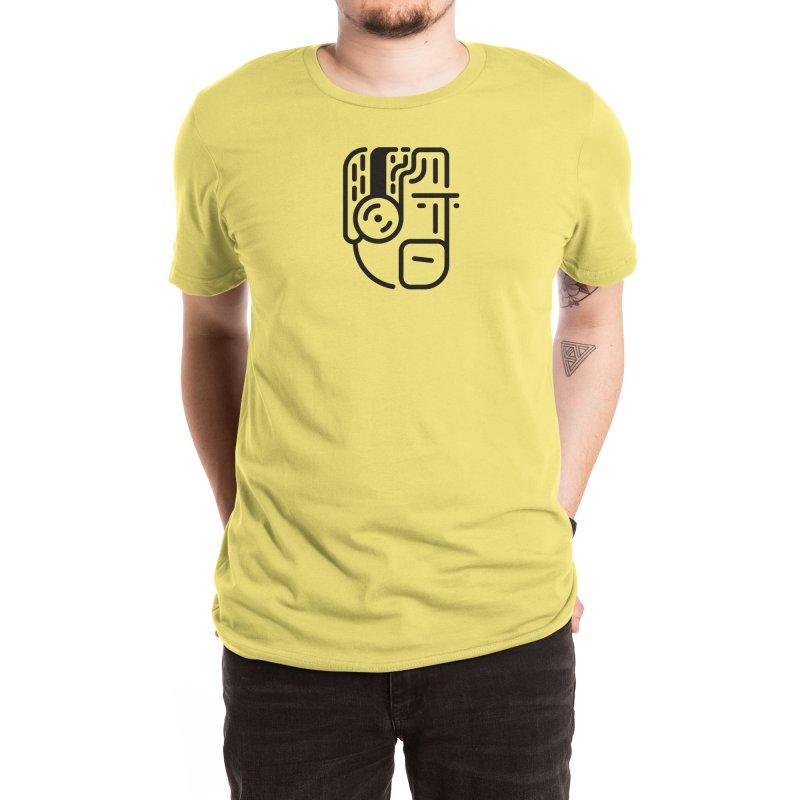 Music Head Men's T-Shirt by Arto Jegas Store