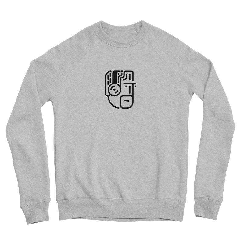 Music Head Men's Sponge Fleece Sweatshirt by artojegas's Artist Shop