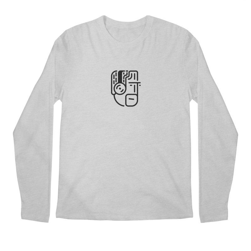Music Head Men's Regular Longsleeve T-Shirt by artojegas's Artist Shop
