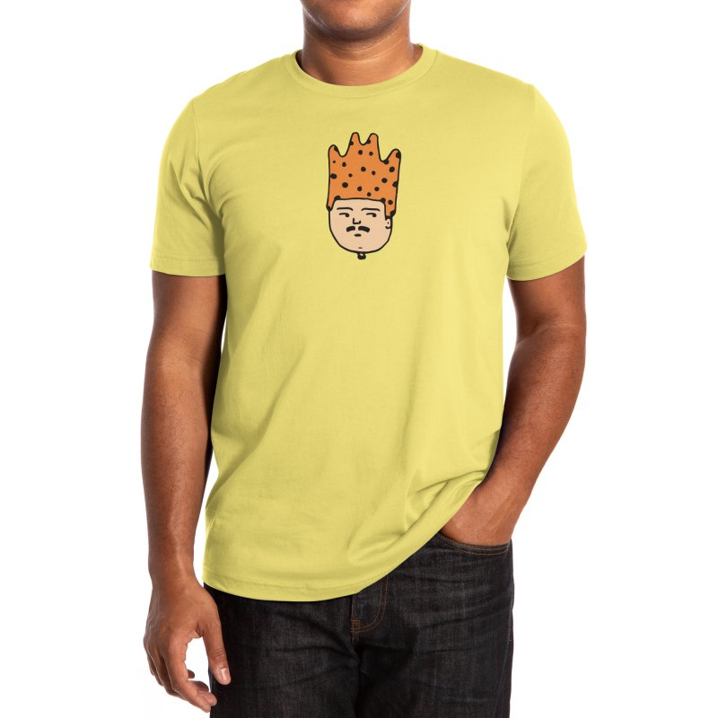 King Mustache Men's T-Shirt by Arto Jegas Store
