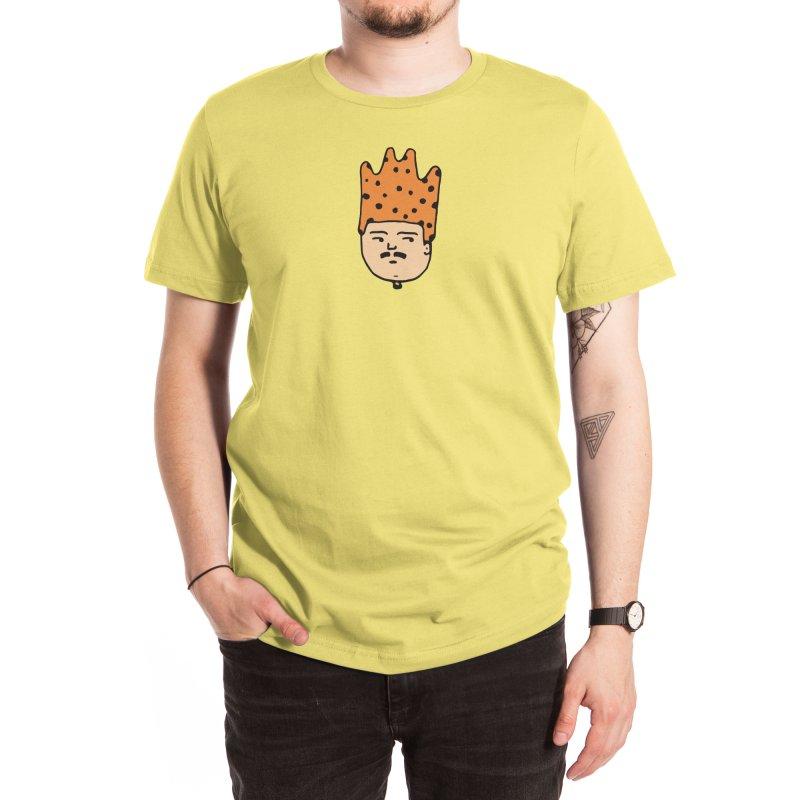 King Mustache Men's T-Shirt by Arto Jegas Store