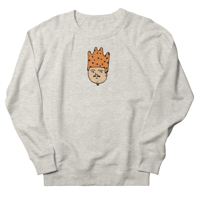 King Mustache Men's French Terry Sweatshirt by Arto Jegas Store