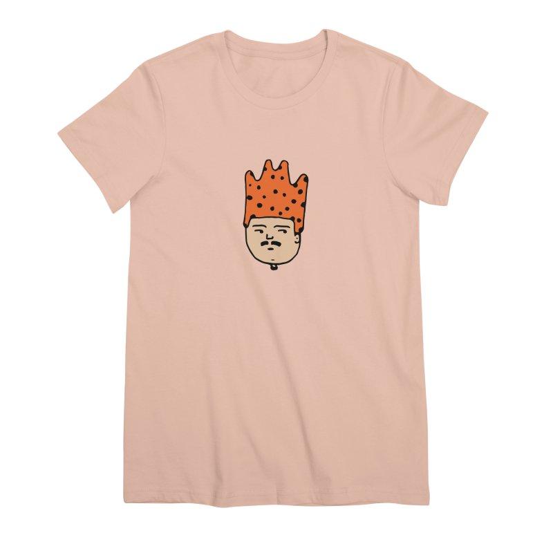 King Mustache Women's Premium T-Shirt by artojegas's Artist Shop