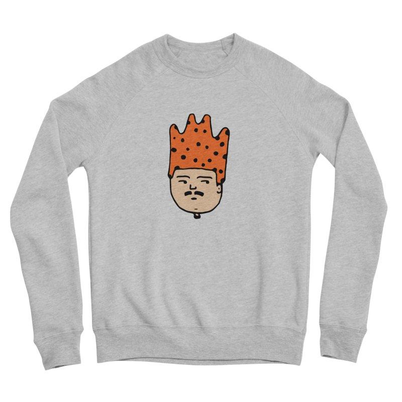 King Mustache Men's Sponge Fleece Sweatshirt by artojegas's Artist Shop