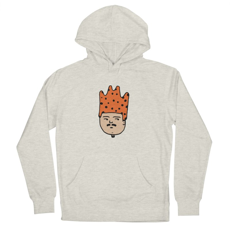 King Mustache Women's French Terry Pullover Hoody by artojegas's Artist Shop