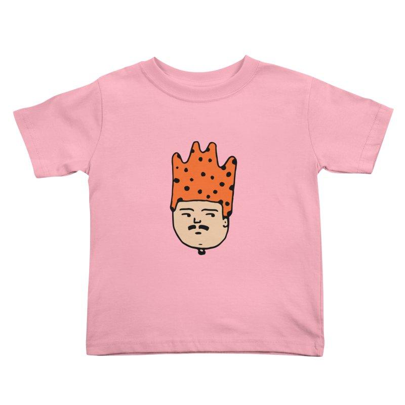 King Mustache Kids Toddler T-Shirt by artojegas's Artist Shop
