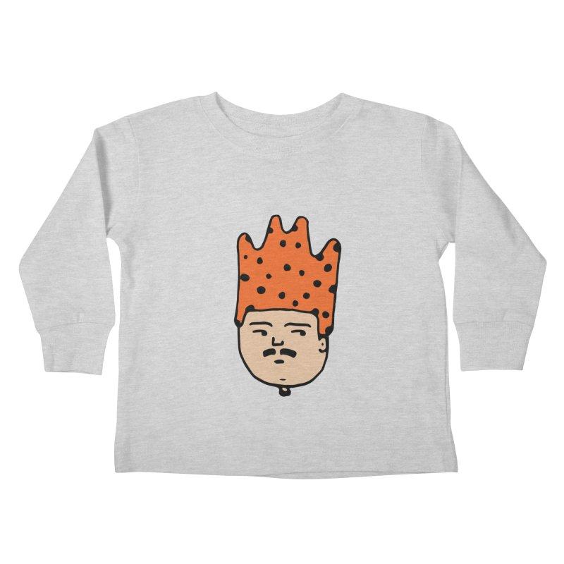 King Mustache Kids Toddler Longsleeve T-Shirt by artojegas's Artist Shop