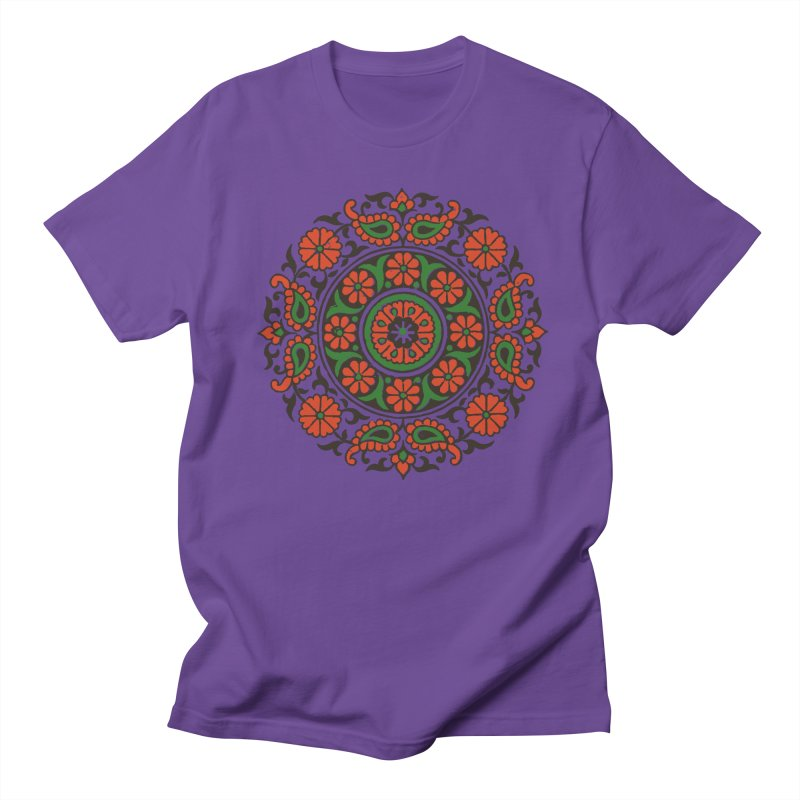 Mandala Red/Green Women's Unisex T-Shirt by Art On Everything