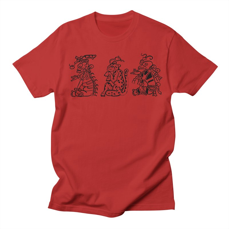 Mayan Figures Men's T-shirt by Art On Everything