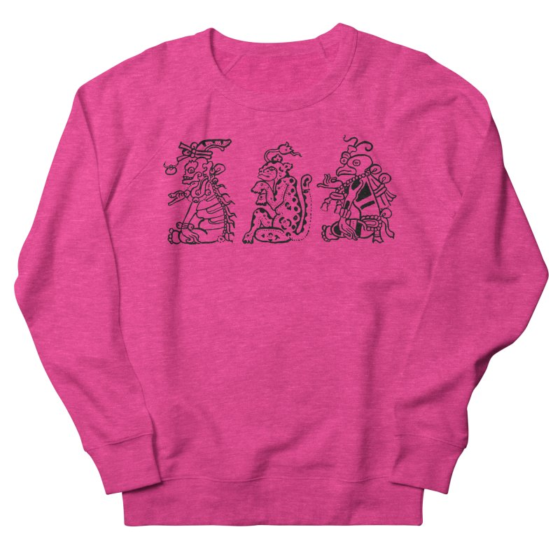 Mayan Figures Men's Sweatshirt by Art On Everything