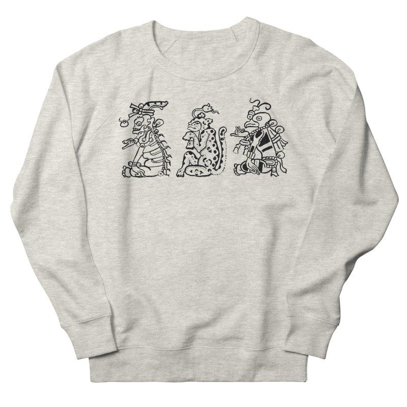Mayan Figures Men's Sweatshirt by Art On Everything