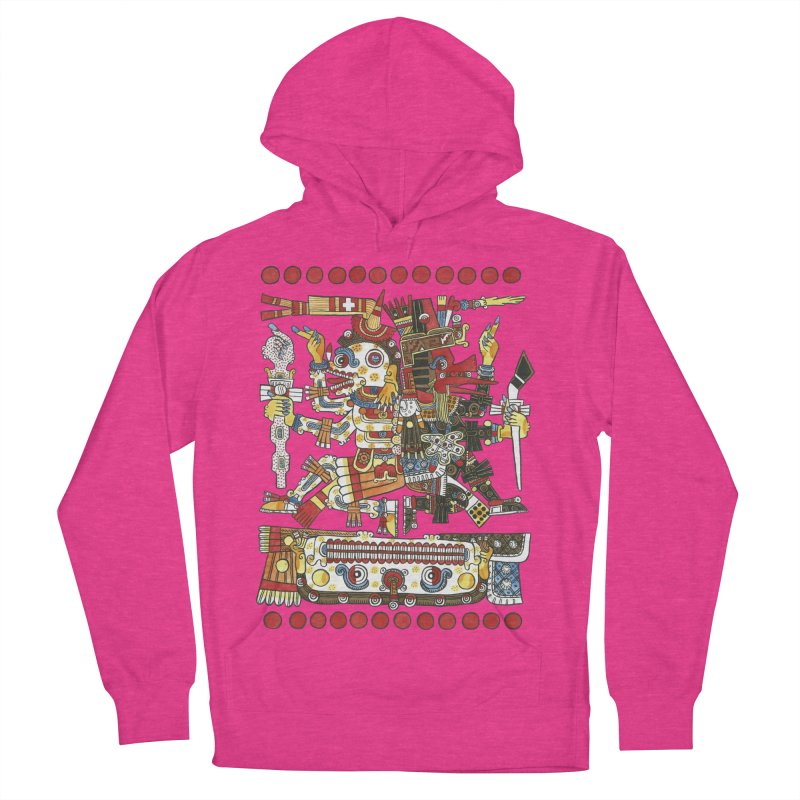 Codex Borgia Detail Women's Pullover Hoody by Art On Everything