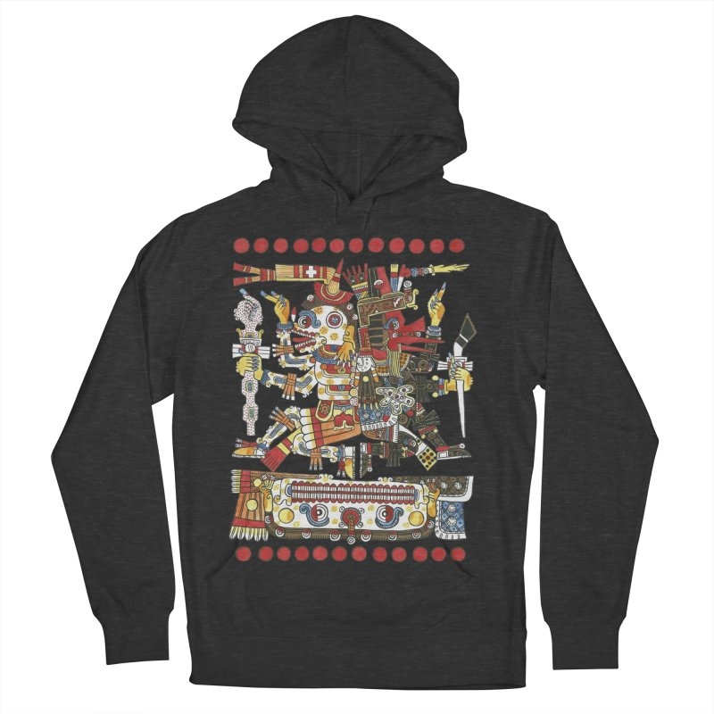 Codex Borgia Detail Men's Pullover Hoody by Art On Everything