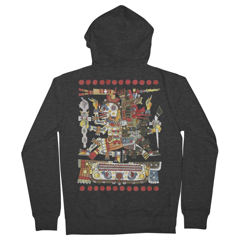 Codex Borgia Detail Women's Zip-Up Hoody by Art On Everything