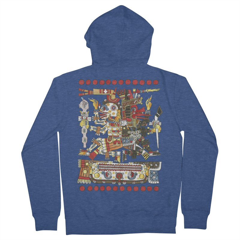 Codex Borgia Detail Men's Zip-Up Hoody by Art On Everything