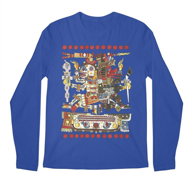 Codex Borgia Detail Men's Regular Longsleeve T-Shirt by Art On Everything