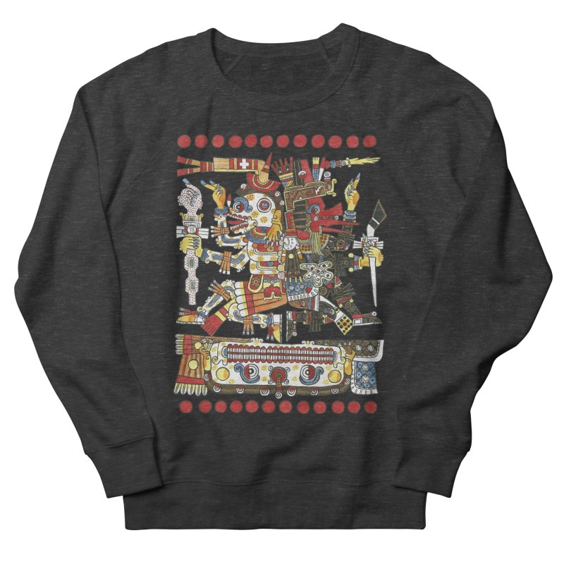 Codex Borgia Detail Men's Sweatshirt by Art On Everything