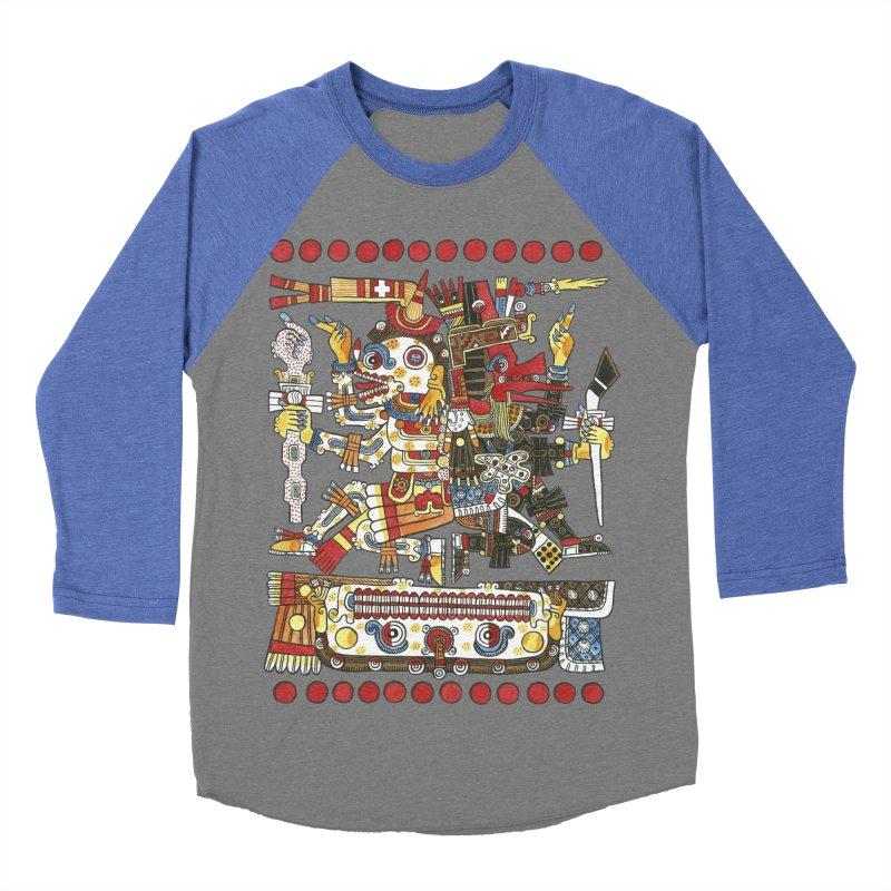 Codex Borgia Detail Women's Baseball Triblend T-Shirt by Art On Everything